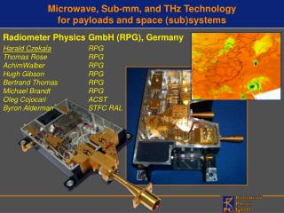 Microwave, Sub-mm, and THz Technology for payloads and space (sub)systems