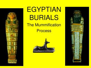EGYPTIAN  BURIALS