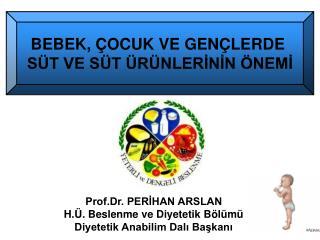 Prof.Dr. PERİHAN ARSLAN H.Ü. Beslenme ve Diyetetik Bölümü  Diyetetik Anabilim Dalı Başkanı