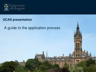 A guide to the application process