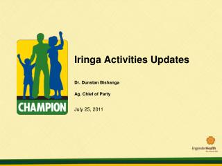 Iringa Activities Updates