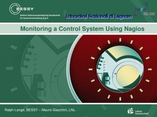 Monitoring a Control System Using Nagios