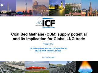 Coal Bed Methane (CBM) supply potential and its implication for Global LNG trade