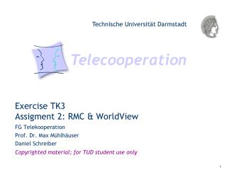 Exercise TK3 Assigment 2: RMC & WorldView