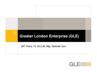 Greater London Enterprise (GLE)