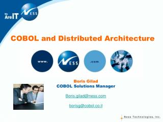 COBOL and Distributed Architecture