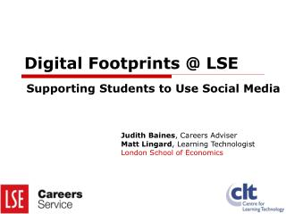 Digital Footprints @ LSE