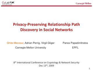 Privacy-Preserving Relationship Path Discovery in Social Networks
