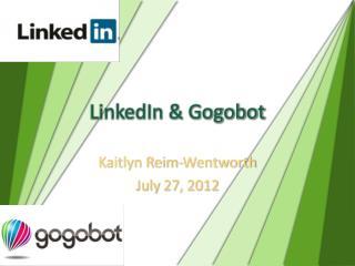 LinkedIn & Gogobot
