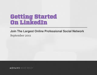 Join The Largest Online Professional Social Network September 2011