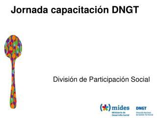 Jornada capacitación DNGT