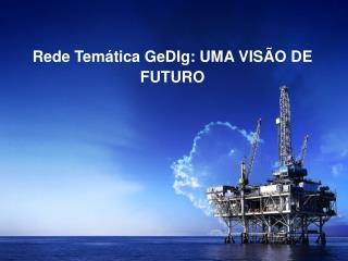Rede Temática GeDIg: UMA VISÃO DE FUTURO