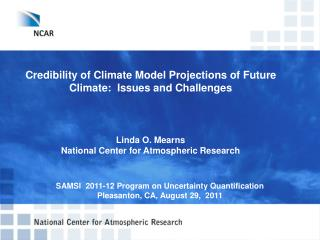 Credibility of Climate Model Projections of Future Climate:  Issues and Challenges