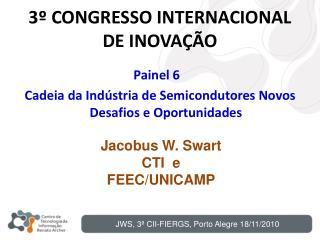 3º CONGRESSO INTERNACIONAL DE INOVAÇÃO