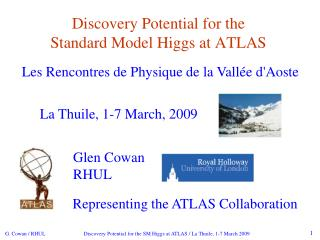 Discovery Potential for the  Standard Model Higgs at ATLAS