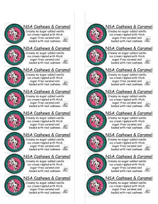 NSA Cashews & Caramel