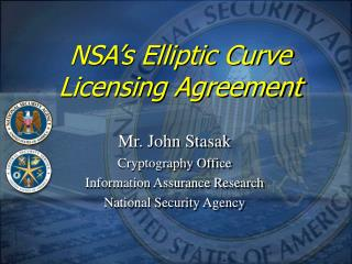 NSA's Elliptic Curve Licensing Agreement