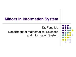 Minors in Information System