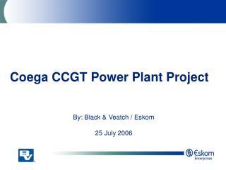 Coega CCGT Power Plant Project