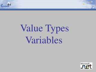 Value Types Variables