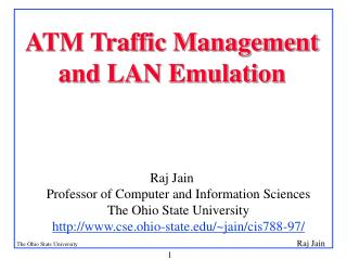 ATM Traffic Management and LAN Emulation