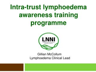 Intra-trust lymphoedema awareness training programme