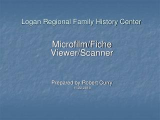 Logan Regional Family History Center