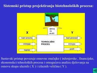 Sistemski pristup projektiranju biotehnoloških procesa: