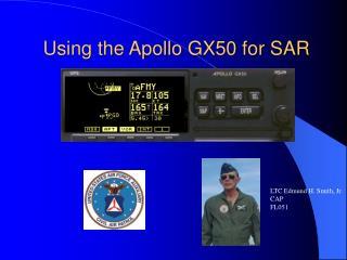 Using the Apollo GX50 for SAR