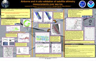 2006 Arctic Aircraft Altimeter (AAA) Experiment  Envisat and ICESat underflights over sea ice