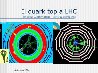 Il quark top a LHC