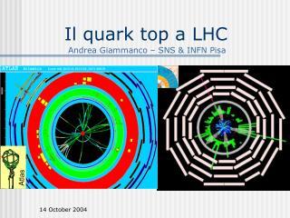 Il quark top a LHC