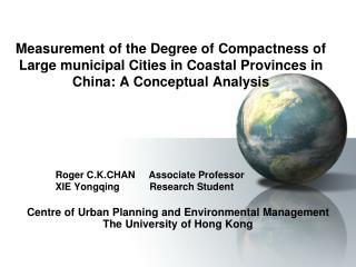 Roger C.K.CHAN     Associate Professor