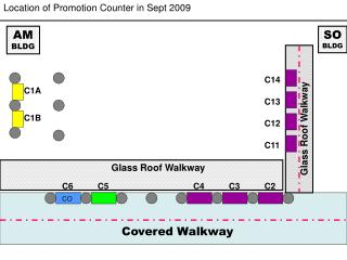 Location of Promotion Counter in Sept 2009