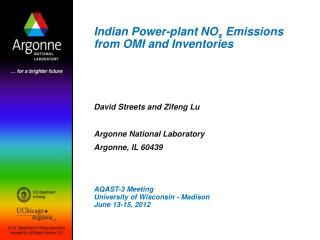 Indian Power-plant NO x  Emissions from OMI and Inventories