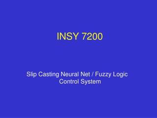 INSY 7200