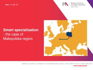 Smart specialisation - the case of Małopolska region