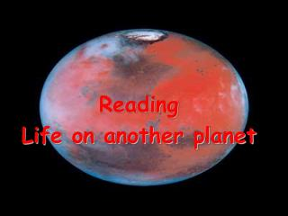 Reading Life on another planet