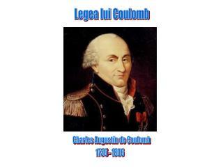 Legea lui Coulomb