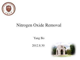 Nitrogen Oxide Removal