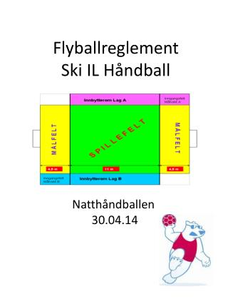 Flyballreglement Ski IL  Håndball