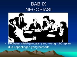 BAB IX NEGOSIASI