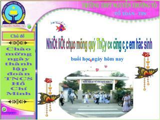 Nhi�t li�t ch�o m�ng qu� Th�y c� c�ng c�c em h�c sinh