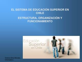 EL SISTEMA DE EDUCACIÓN SUPERIOR EN CHILE ESTRUCTURA, ORGANIZACIÓN Y FUNCIONAMIENTO