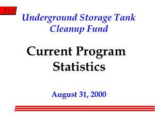 Underground Storage Tank Cleanup Fund