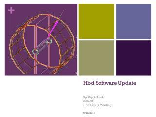 Hbd Software Update