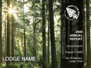 LODGE NAME