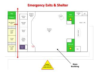Emergency Exits & Shelter