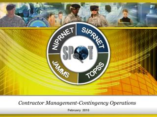 Contractor Management-Contingency Operations
