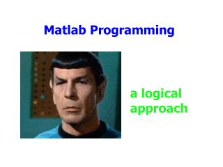 Matlab Programming
